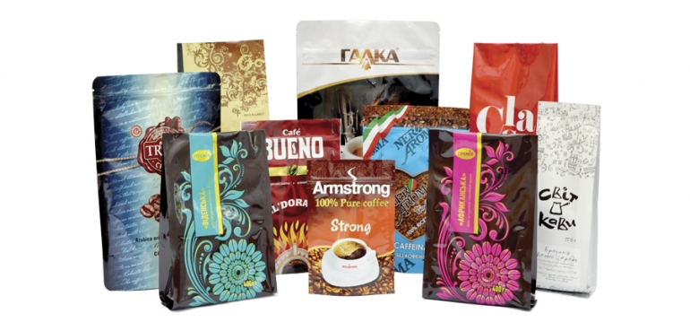 packaging for coffee and tea